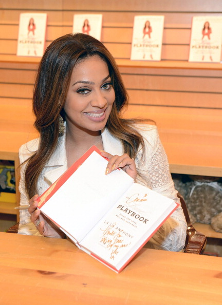 "LaLa Anthony Signs Copies Of The New Book ""The Love Playbook: Rules For Love, Sex, And Happiness"""