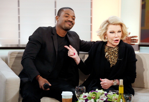 "Joan Rivers And Ray J Visit ""Live From The Couch"""