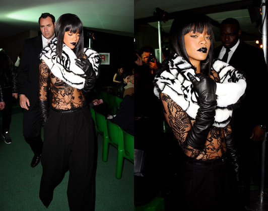 Rihanna-Paris-Fashion-Week-jean-pau-gaultier