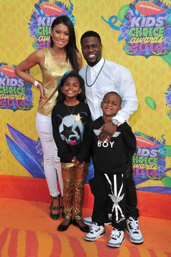 Kevin Hart and children at the Nick Choice Awards and More…