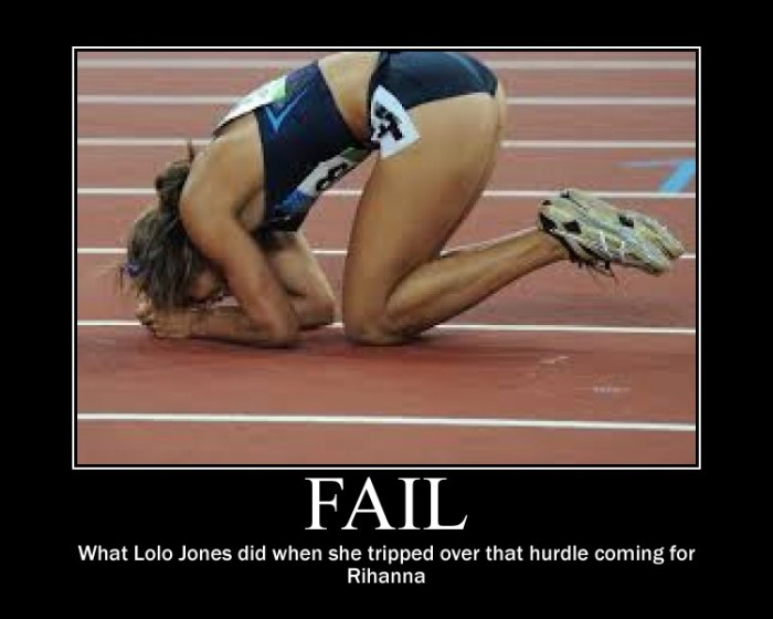 Lolo Jones Twitter Fail