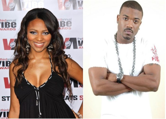 teairra mari fight on love and hip hop LA set