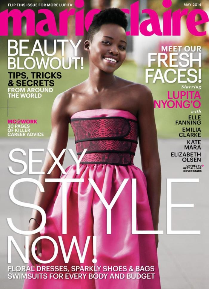 Lupita Marie Claire Cover