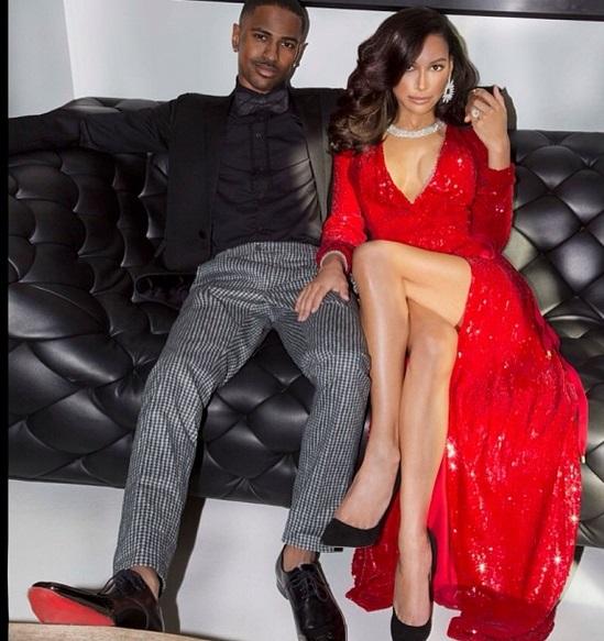 Naya Rivera and Big Sean engagement