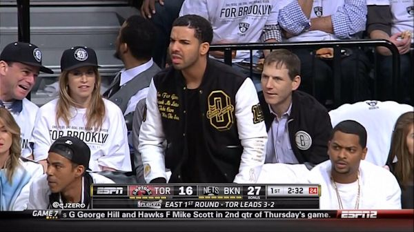 Drake-at-Brooklyn-Nets-game