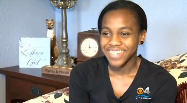 Grace Bush graduates from FAU at age 16