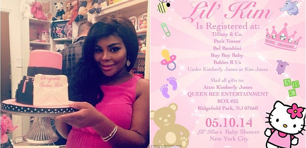 Lil Kim Treats Baby Girl Like Royalty At Her Baby Shower Urban
