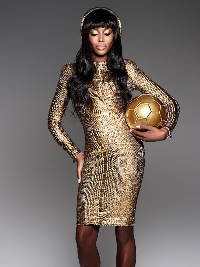 Fierce! Serve it Naomi! Photo via Global Grind