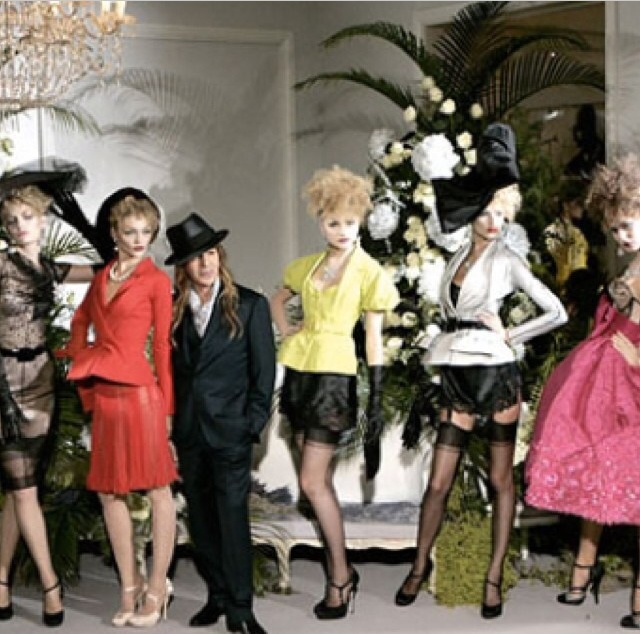 Galliano and his muses