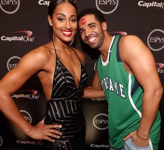 Skylar and Drake at ESPY'S.