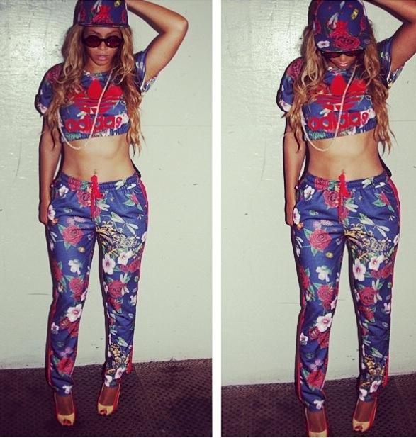 Bey in 'Adidas loves Rita Ora'.