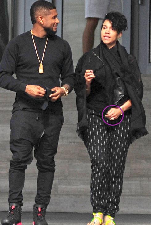 Usher raymond marriage 2015