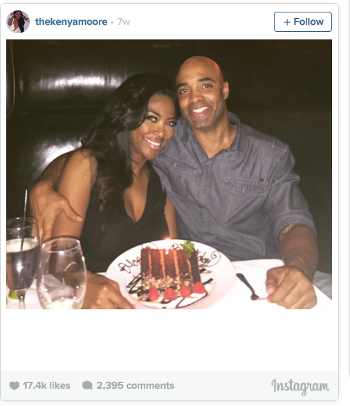 Is kenya moore dating james from millionaire matchmaker