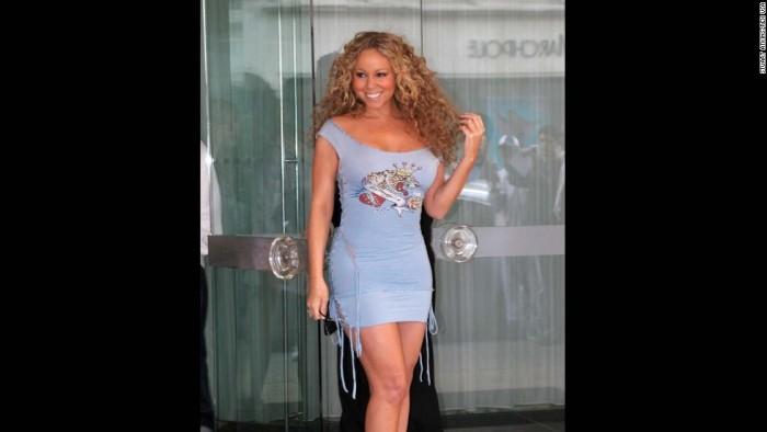 Mandatory Credit: Photo by Stuart Atkins / Rex USA (267669q) Mariah Carey leaving MARIAH CAREY, SANDERSON HOTEL, LONDON, BRITAIN - 04 JUL 2005