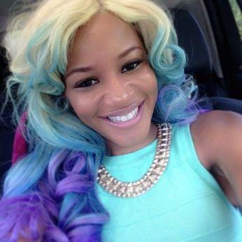 Celebrities in Mermaid Hair