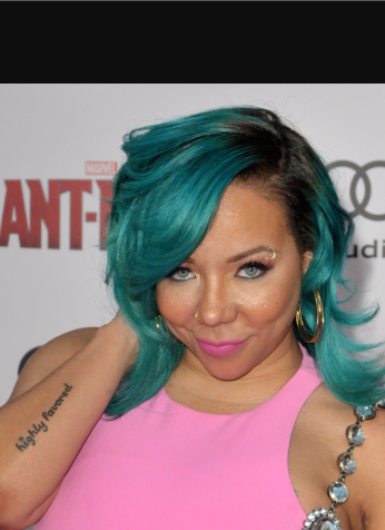 Black Women Hair color trends Tameka Tiny Harris