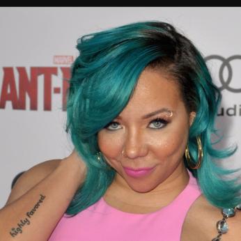 Black Women Hair color trends Tameka Tiny Harris