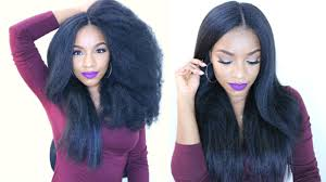 natural crochet braids