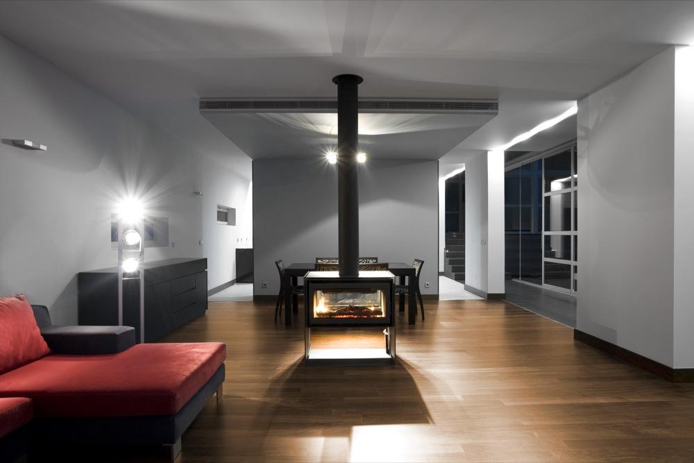Contemporary Minimalist interior design